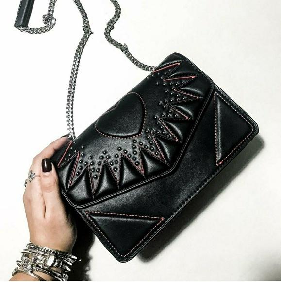 1c20a5051516 Zara Heart Crossbody Bag